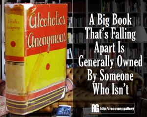 Big Book Falling Apart