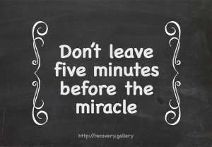 Five Minutes B4 the Miracle