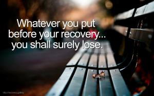 Put Before Recovery