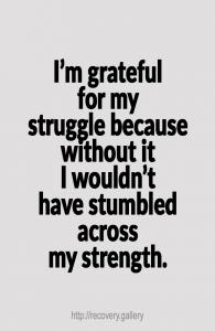 Grateful For My Struggle