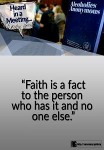 Faith is a Fact