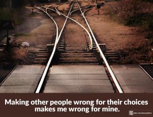 Making People Wrong