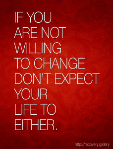 Not Willing to Change