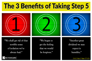 3 Benefits of Taking Step 5