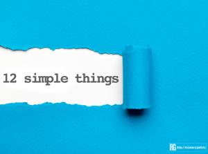 12 Simple Things