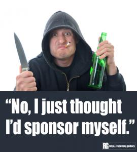 Sponsoring Myself