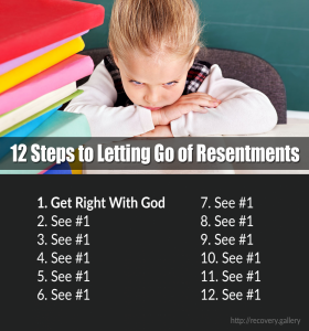 12 Steps to Letting Go